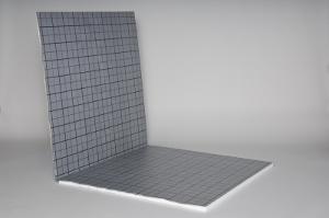 Faltplatte für das Tackersystem