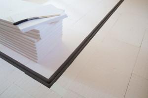 fu bodenheizung auf bereits vorhandener d mmung realisieren mit gittermatte und smartclips. Black Bedroom Furniture Sets. Home Design Ideas