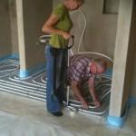 Der Aufbau der Fördetherm Fußbodenheizung im Tackersystem