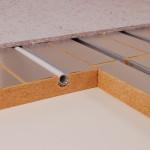 Neu von Fördetherm – die Fußbodenheizung im Bio-Holzfasersystem
