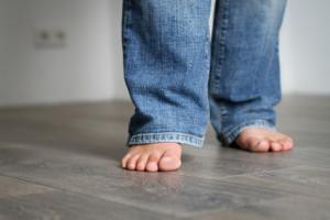 Laminat und Fußbodenheizung