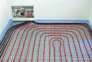 Wellschutzrohre verringern die Wärmeaustrahlung von Zuleitungen